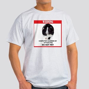 Attack Pig Computer Light T-Shirt