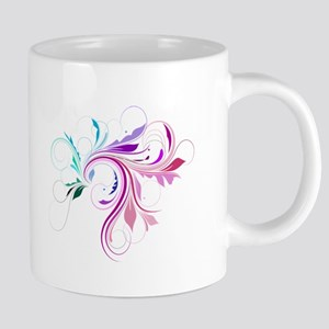 Colorful flourish Mugs