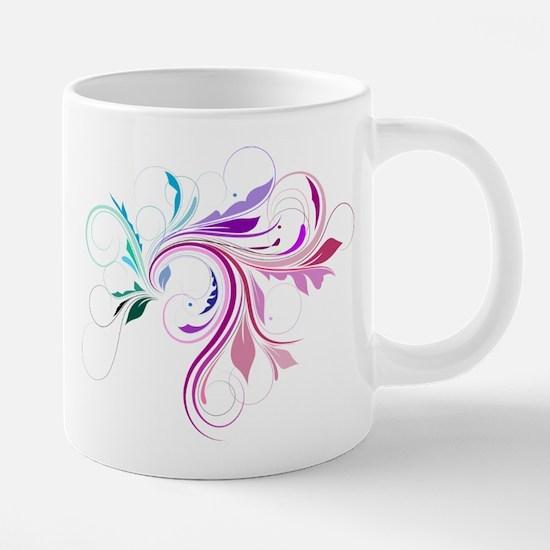 Colorful flourish Mugs
