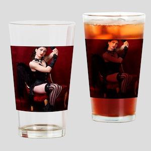 Burlesque, Card Drinking Glass