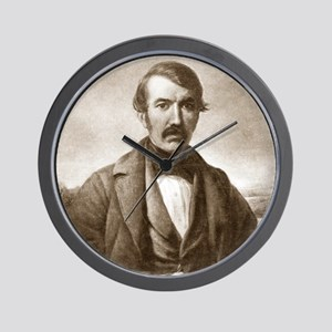 David Livingstone, Scottish explorer Wall Clock