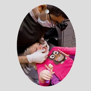Dental treatment Oval Ornament