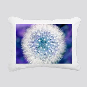 Dandelion seed head Rectangular Canvas Pillow