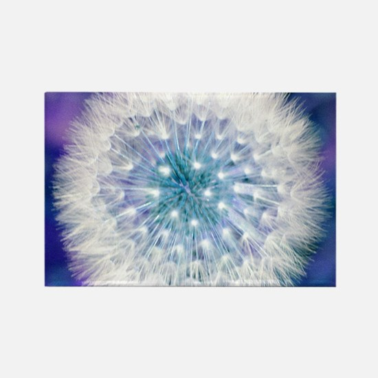 Dandelion seed head Rectangle Magnet