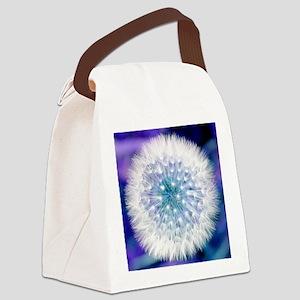 Dandelion seed head Canvas Lunch Bag