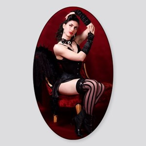 Burlesque Sticker (Oval)