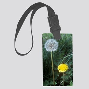 Dandelion (Taraxacum officinale) Large Luggage Tag