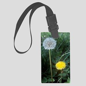 Dandelion (Taraxacum officinale) Large Luggage Tag