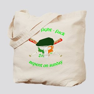 Drink Fight **** Tee Tote Bag
