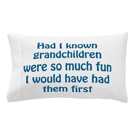 fun grandchildren Pillow Case
