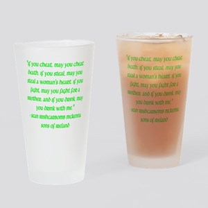 SOI Motto Drinking Glass
