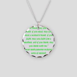 SOI Motto Necklace Circle Charm