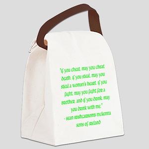 SOI Motto Canvas Lunch Bag