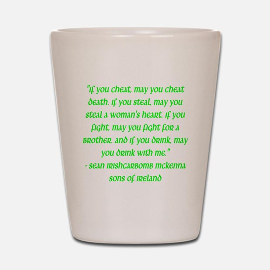 SOI Motto Shot Glass