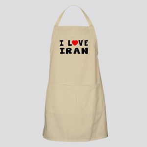I Love Iran Apron