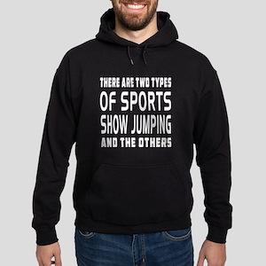 Show Jumping Designs Hoodie (dark)