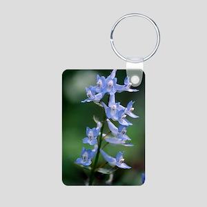 Corydalis flowers (Corydal Aluminum Photo Keychain