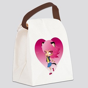 Nyan Love Canvas Lunch Bag