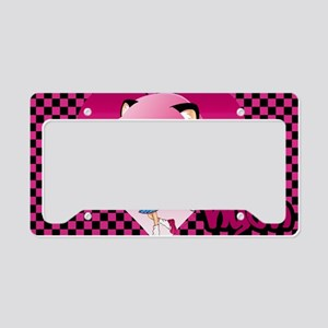 Nyan laptop License Plate Holder