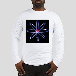 Computer artwork of a berylliu Long Sleeve T-Shirt