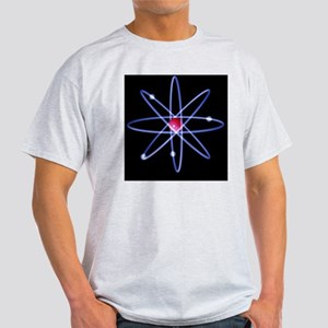 Computer artwork of a beryllium atom Light T-Shirt