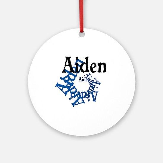 Aiden Round Ornament
