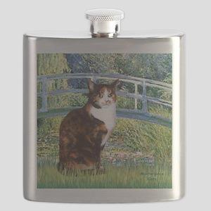 calico cat Flask