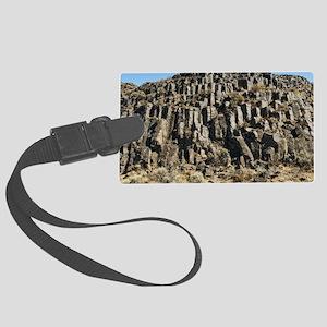 Columnar basalt formation Large Luggage Tag