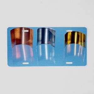 Copper, zinc and brass Aluminum License Plate
