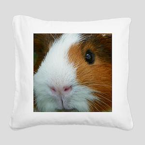 Cavy 1 Square Canvas Pillow