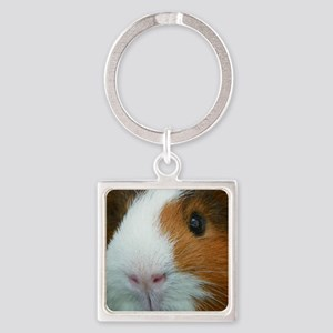 Cavy 1 Square Keychain
