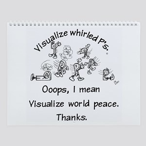 Visualize Whirled P's Wall Calendar