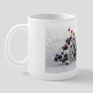 Coenzyme A, molecular model Mug