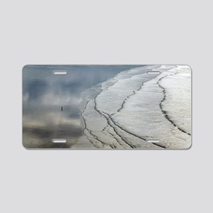 Coastal landscape Aluminum License Plate
