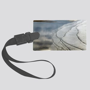Coastal landscape Large Luggage Tag