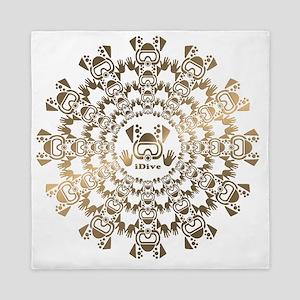 iDive Gold Queen Duvet