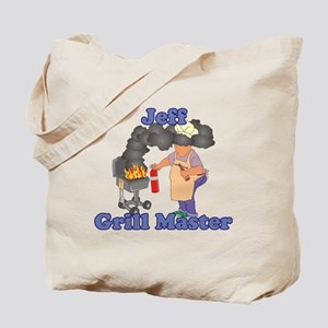 Grill Master Jeff Tote Bag