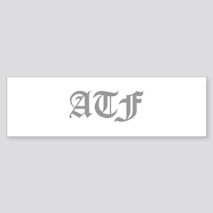 ATF Bumper Sticker