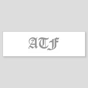 ATF Bumper Sticker
