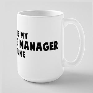 Marketing Manager costume Mugs
