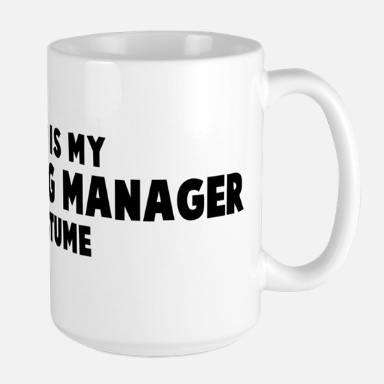 Marketing Manager costume Mugs