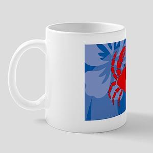 Crab Oval Hitch Mug