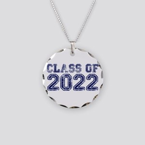 Class of 2022 Necklace Circle Charm