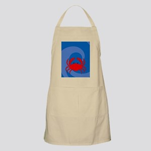 Crab iPad Sleeve Apron