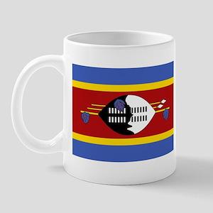 Swaziland Flag T Shirts Mug