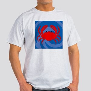 Crab Shower Curtain Light T-Shirt