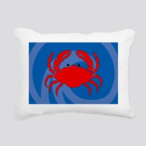 Crab Pillowcase Rectangular Canvas Pillow