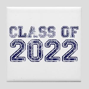 Class of 2022 Tile Coaster