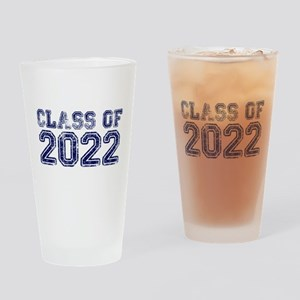Class of 2022 Drinking Glass