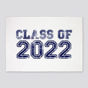 Class of 2022 5'x7'Area Rug